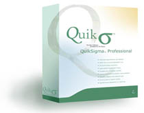 QuikSigma Professional Six Sigma Software